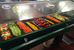 An awesome salad bar from Wallace Middle School – Hays CISD – Kyle, Texas. They are back-to-back Alliance for a Healthier Generation Healthy Schools Program award winners: Bronze award winners for 2013-14 and Silver award winners for 2014-15.