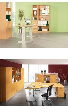 Wie Würdest Du Dein Büro Einrichten? Welche Variante Der Serie
