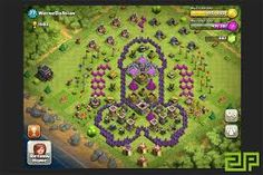best base layout for th level 9 - Google Search