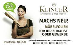 www.Klinger-Folien.de  #klinger #möbelfolien #design #dekorfolie
