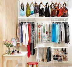 Ideas para mantener el orden en tus armarios