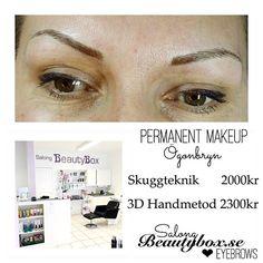 Vår permanent makeup stylist @salongbeautyboxveronica erbjuder skuggteknik och 3D handmetod/micro blading inom ögonbryn. I priset ingår konsultation och påfyllning inom 8v. Nyans samt form kommer ni fram till tillsammans och mer information finns på hemsidan, bokning sker via vår boka direkt sida  Länk i profilen! #teamsalongbeautybox #salongbeautybox #beautyboxbloggen #beautybox #pmu #permanentmakeup #kosmetisktatuering #3Dögonbryn #3Dbrows #3Deyebrows #3Dbryn #handmetoden #microblading…