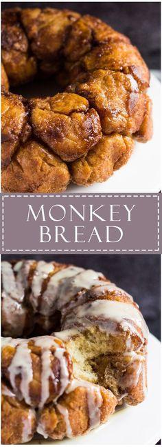 Monkey Bread | http://marshasbakingaddiction.com /marshasbakeblog/