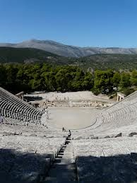 The magnificent Ancient Theater of Epidaurus, Greece