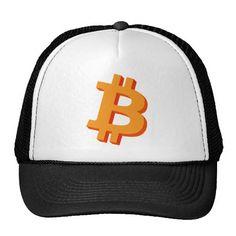Bitcoin 3D Logo NasDesign Trucker Hats