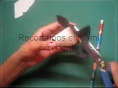 ▶ Como Hacer El Cuerpo De Las Fofuchas PaP Video tutoriales Artfoamicol moldes Patrones.wmv - YouTube