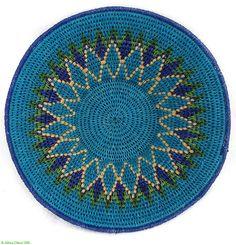 African Basket Swazi Sisal Tight Weave