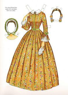 Godey's Early Victorian Fashions - Charlotte (1838 - 1858) | Gabi's Paper Dolls