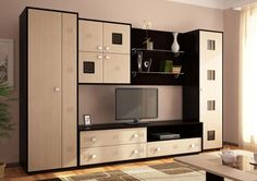 Корпусная мебель для гостиной фото 1 Tv Cabinet Design, Tv Wall Design, House Design, Living Room Modern, Living Room Decor, Lcd Panel Design, Modern Tv Wall Units, Tv Unit Furniture, Living Room Tv Unit Designs