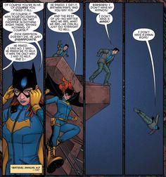 Batgirl reunites with Nightwing 2/3