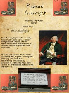 Richard Arkwrights Invention