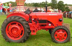 David Brown 30 D tractor in Red