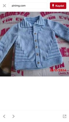 hand knit cardigan for toddler