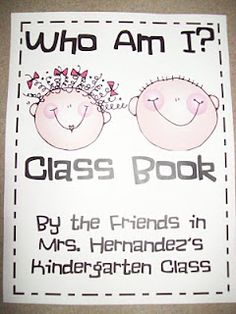 Chalk Talk: A Kindergarten Blog: Who Am I