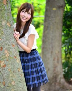 写真:橘珠里さん ストリートスナップ Waist Skirt, High Waisted Skirt, Cute, Skirts, Smile, Beautiful, Fashion, Moda, Skirt
