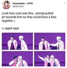 SIN! That's how soft yoongi is okay. Y'all don't post shit about lil meow meow. He's an angel in disguise
