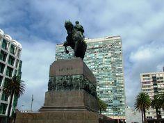 Plaza Idependencia - Montevideu - Uruguay
