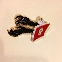 Image of The Hand Book Enamel Pin
