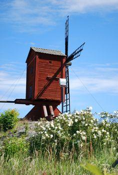 Old wind mill  (Photo: Kajsa Snickars)