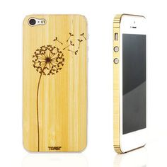 iPhone 5 Dandelion Bamboo Set, $29, now featured on Fab.