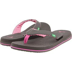 Sanuk - Yoga Mat - the most comfortable flip flops I've ever owned...now what color to get this year???