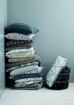 Stoff & Stil has launched in the UK - diy cushion covers with fabrics from Stoff & Stil
