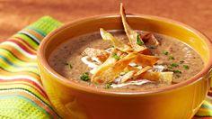 Black Bean Chorizo Soup