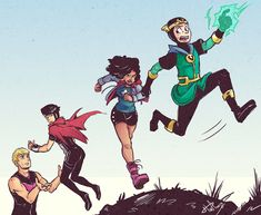 Young Avengers Scenario by msloveless
