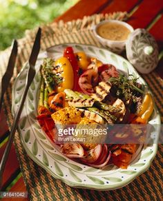 grill vegetables tongs - Google Search