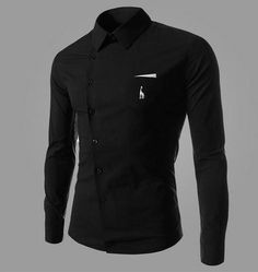 Gender: Men Item Type: Shirts Closure Type: Single Breasted Material: Cotton,Polyester Collar: Turn-down Collar Sleeve Length: Full Shipping: FREE - Worldwide! Men's Casual Fashion Tips, Men's Fashion, Stylish Mens Fashion, Latest Mens Fashion, Fashion Night, Fashion Site, Fashion Ideas, Stylish Menswear, Fashion Pictures