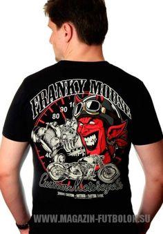 Мужская футболка Сustom Hotroad Tattoo