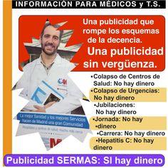 E-Revista AMYTS 113. ACTUALIDAD. Se multiplican las denuncias, iniciadas por AMYTS, a la vergonzosa campaña de propaganda de la Consejería de Sanidad http://amyts.es/actualidad-se-multiplican-las-denuncias-iniciadas-por-amyts-la-vergonzosa-campana-de-propaganda-de-la-consejeria-de-sanidad/