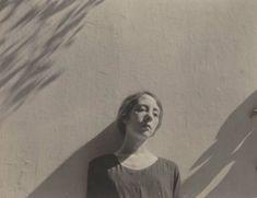 """Gah, I love him...""""Monna with leaf shadows"""", 1925, by Edward Weston"""