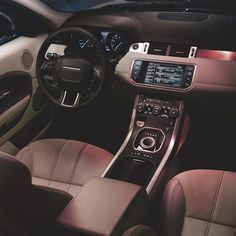Lighting to match your mood: the Range Rover #Evoque features stylish ambient lighting