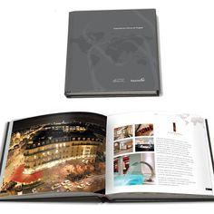 layout para book de hotéis