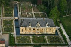 ✈️ Photo aérienne de Château du Grand Jardin - Haute-Marne (52)