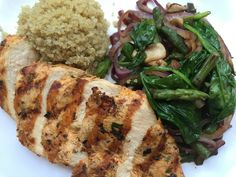 You eatSmart & bTrim when you order our bTrim Chicken Platter! Change your lifestyle without giving up taste! Calories: 500 cafedeboston.com #btrim
