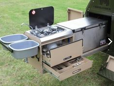 military trailer camping - Google Search