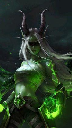 Mainly posting science fiction and fantasy stuff i find cool Foto Fantasy, Fantasy Warrior, Dark Fantasy Art, Fantasy Artwork, Demon Artwork, World Of Warcraft, Warcraft Art, Fantasy Art Women, Fantasy Girl