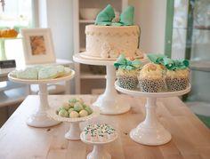 Aqua, White Cake, Cookies, Cupcakes, Candies