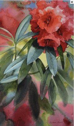 Svetlana is a wonderful painter of flowers Flower Art, Art Flowers, Watercolor Flowers, Artist, Plants, Painting, Watercolor Artists, Art Floral, Painting Art