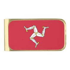 Patriotic Money Clip with Isle of Man flag UK - customize create your own #personalize diy & cyo