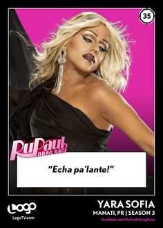 TRADING CARD THURSDAY #35: Yara Sofia! Are you excited to see her onRuPaul's All Stars Drag Race?