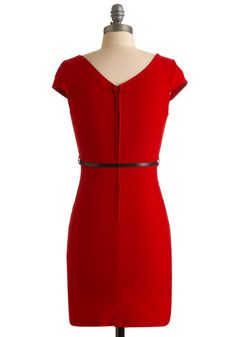 And We're Live Dress - Power red!