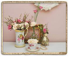 Vintage Wedding Ideas | Vintage Wedding Table Ideas Photograph | Vintage wedding flo
