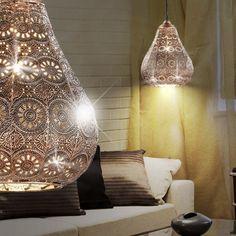 Oosters Hangverlichting Ø190mm/ Oriënt/ Koper/ Aluminium/ Pendel lamp Arabische Marokkaanse Hang verlichting Hanglamp Pendellamp Pendelverlichting