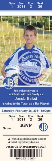 Throw an All-Star Bar Mitzvah Party! Tips for planning a sports-themed Bar Mitzvah.