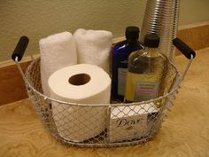 overnight guest basket