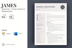 Creative resume format for Freshers. Internship Resume template for MS Word and Mac Pages. Simple CV format and Cover Letter examples + References Templates for Resume Pin for later! cover letter for resumes, covering letters for resume, covering letter for resumes