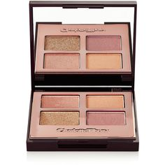 Charlotte Tilbury Luxury Palette Color Coded Eye Shadow - Legendary... ($62) ❤ liked on Polyvore featuring beauty products, makeup, eye makeup, eyeshadow, gold and palette eyeshadow